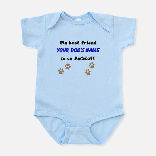 Custom AmStaff Best Friend Body Suit