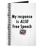 My Response is ALSO Free Speech Journal