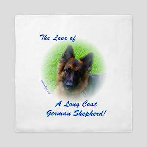 The Love of a Long Coat German Shepherd Queen Duve