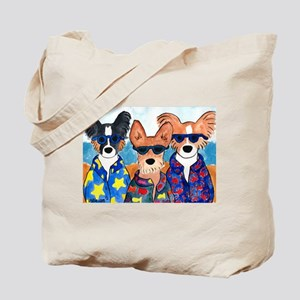 Beach Puppies Tote Bag