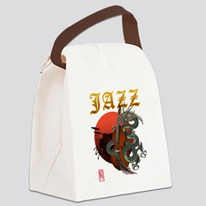 Dragon Contrabass2 Canvas Lunch Bag