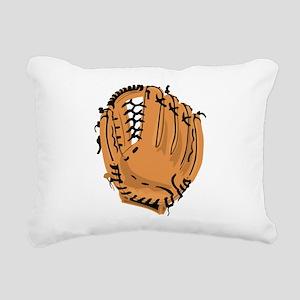 Baseball Glove Rectangular Canvas Pillow