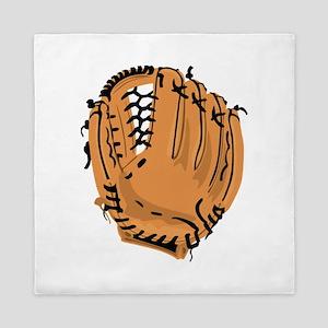 Baseball Glove Queen Duvet