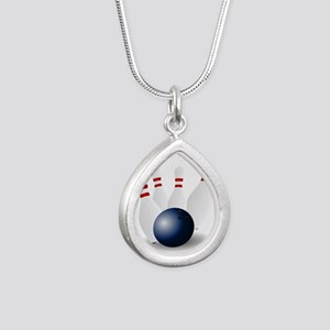 Bowling Ball and Pins Necklaces