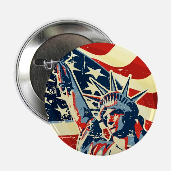 """Happy Independence Day 2.25"""" Button (10 pack)"""