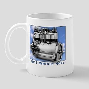 Wright Brothers Engine Mug