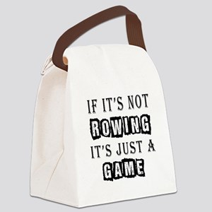 Rowing Designs Canvas Lunch Bag