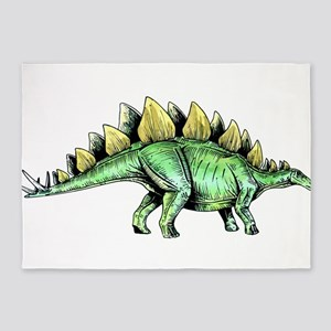 Stegosaurus 5'x7'Area Rug
