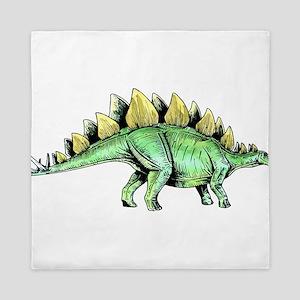 Stegosaurus Queen Duvet