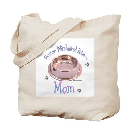 Wirehaired Pointer Mom Tote Bag