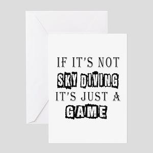 Sky Diving Designs Greeting Card