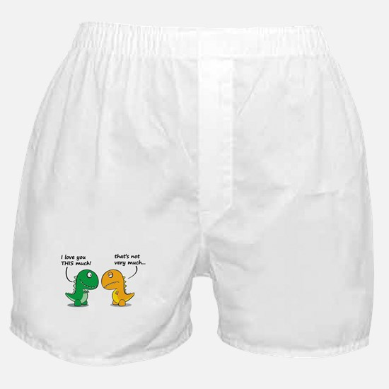 Cute Dinosaurs Boxer Shorts