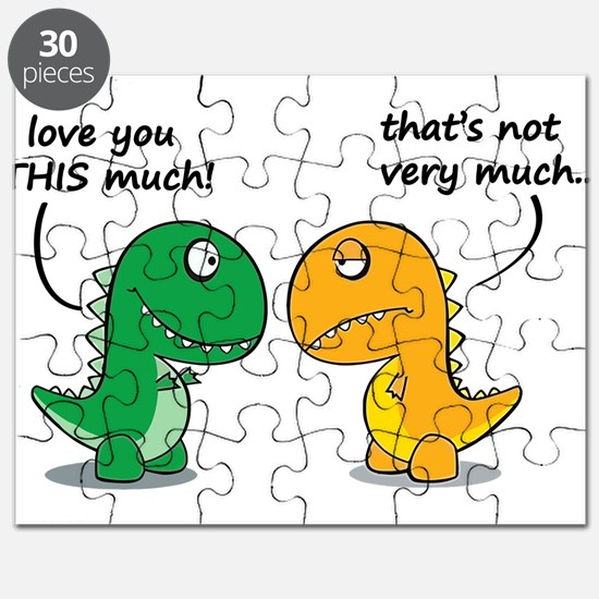 Cute Dinosaurs Puzzle