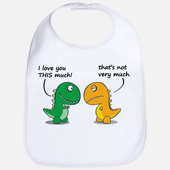 Cute Dinosaurs Bib
