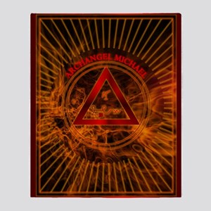 2 ARCHANGEL MICHAEL Tablet_2 Throw Blanket