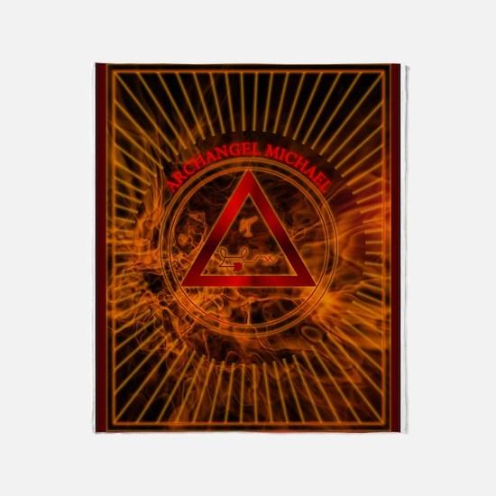 2 ARCHANGEL MICHAEL Tablet_2.png Throw Blanket