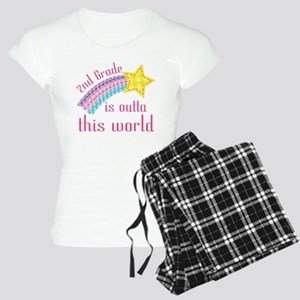 2nd Grade Outta This World Women's Light Pajamas
