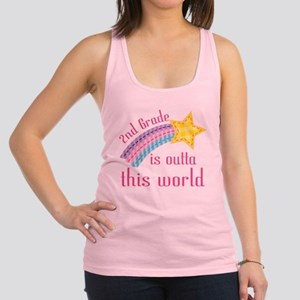 2nd Grade Outta This World Racerback Tank Top