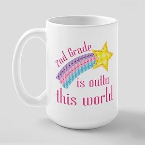 2nd Grade Outta This World Large Mug