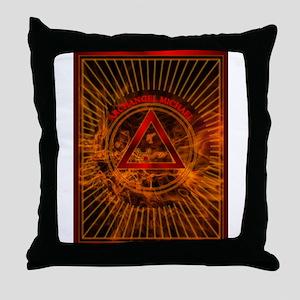 2 ARCHANGEL MICHAEL Tablet_2 Throw Pillow