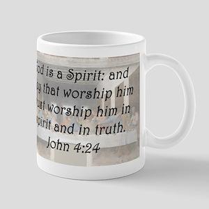 John 4:24 Mug