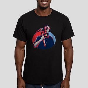 Coal Miner Pick Axe Retro T-Shirt