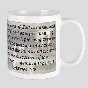 Hebrews 4:12 Mug