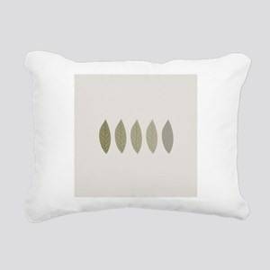 Modern Minimalist Rectangular Canvas Pillow