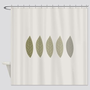 Modern Minimalist Shower Curtain