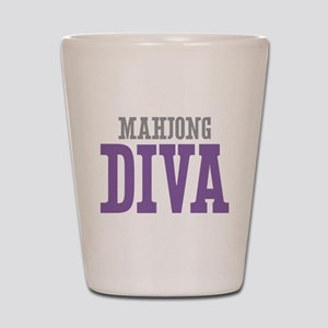 Mahjong DIVA Shot Glass