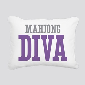 Mahjong DIVA Rectangular Canvas Pillow