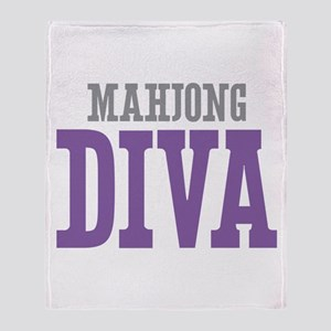 Mahjong DIVA Throw Blanket
