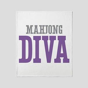 Mahjong DIVA Throw Blanket
