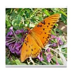 Beautiful Butterfly Tile Coaster