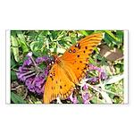 Beautiful Butterfly Rectangle Sticker