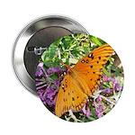 Beautiful Butterfly Button