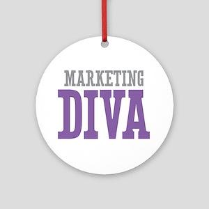 Marketing DIVA Ornament (Round)