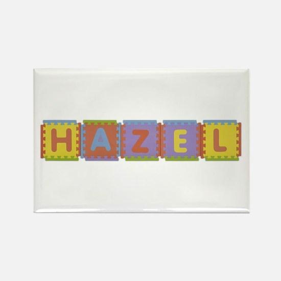 Hazel Foam Squares Rectangle Magnet