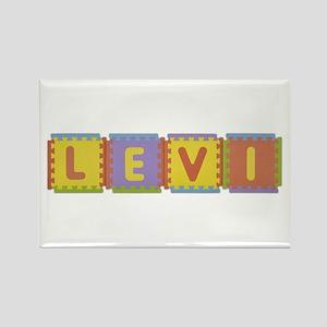Levi Foam Squares Rectangle Magnet