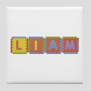 Liam Foam Squares Tile Coaster