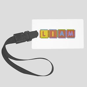 Liam Foam Squares Large Luggage Tag