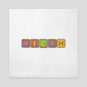 Micah Foam Squares Queen Duvet
