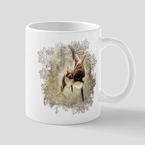 Moody Orcas Drawing 11 oz Ceramic Mug