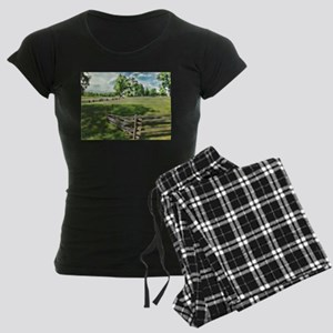 Farm Fence Color Pajamas