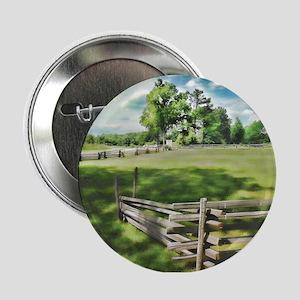 """Farm Fence Color 2.25"""" Button"""