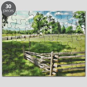 Farm Fence Color Puzzle