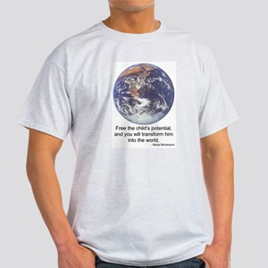 Montessori World - Potential Light T-Shirt
