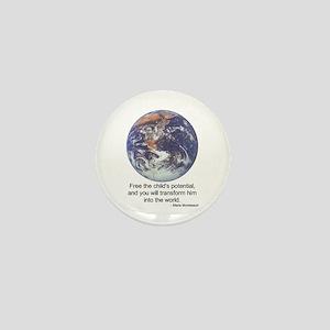Montessori World - Potential Mini Button