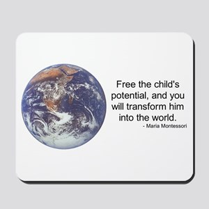 Montessori World - Potential Mousepad