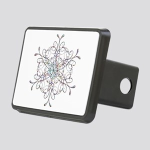 Iridescent Snowflake Hitch Cover